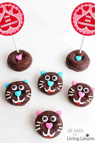 Cat-donut-fun-food-recipe-edible-craft
