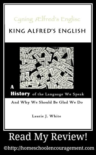 King Alfred's English by Laurie J. White is students, and adults, who are interested in learning the facts behind the development of the English language.  From an overview of the history of the English language to an overview of the the apologetics of the Bible this book does not disappoint.