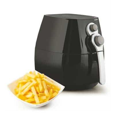 Glen Rapid Air Fryer 1350w Black, 3.2 Lite