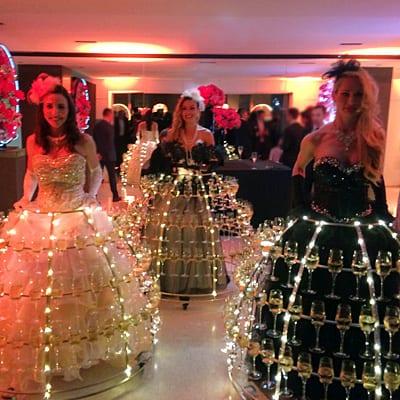 Champagne Girls lumineuses