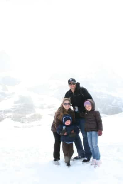 Columbia Icefield Adventure, Brewster Tours Glacier adventure, athabasca glacier, glacier adventure, banff with a toddler, banff with toddlers