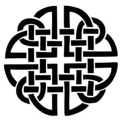 The Dara Knot Celtic Symbol