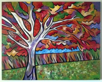Autumnal Blaze painting