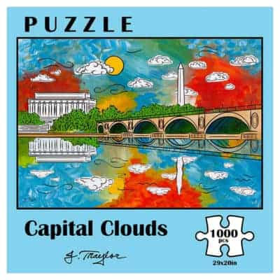 capital clouds 1000pc puzzle