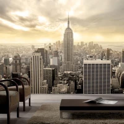 fototapeta miasta nowy york