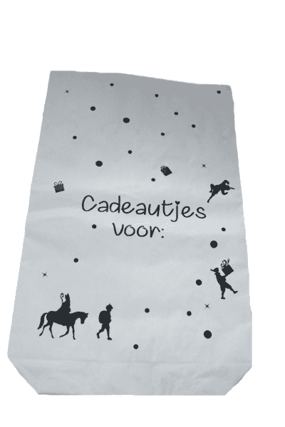 sinterklaas paperbag voorkant