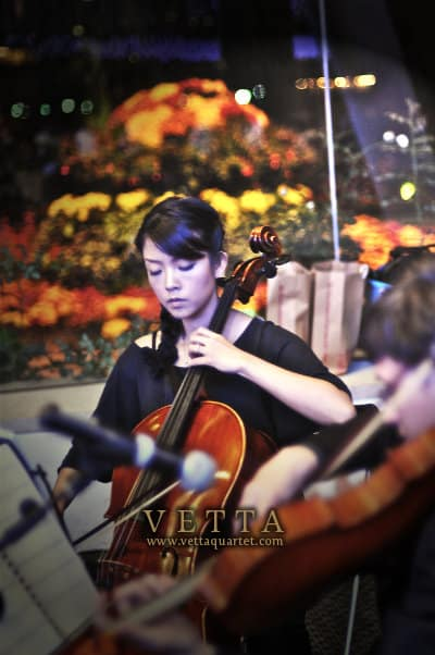 Eva - String Quartet at Gardens by the Bay Singapore