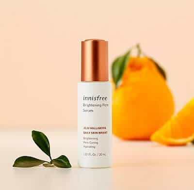 Serum se khít lỗ chân lông Innisfree Brightening Pore Serum 30ml