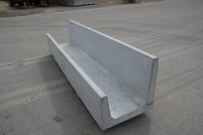 High Capacity Yard Bunk Precast Concrete