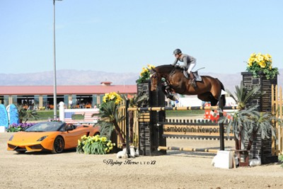 Meredith Michaels-Beerbaum Thrills at AIG Thermal $1 Million Grand Prix