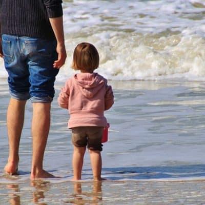 Bimbi al mare - Children