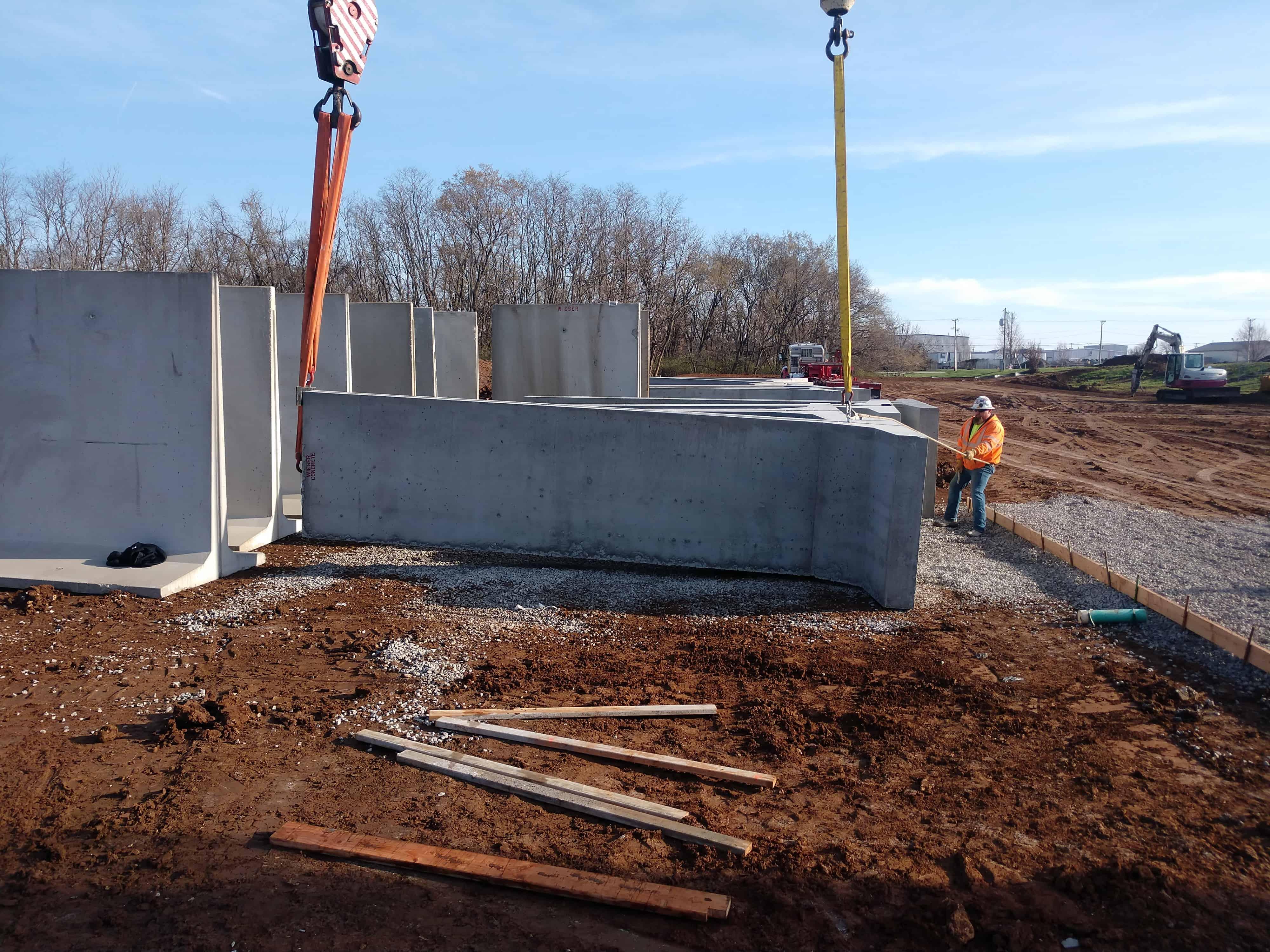 Firing Range Panels Grandview MO Police by Wieser Concrete