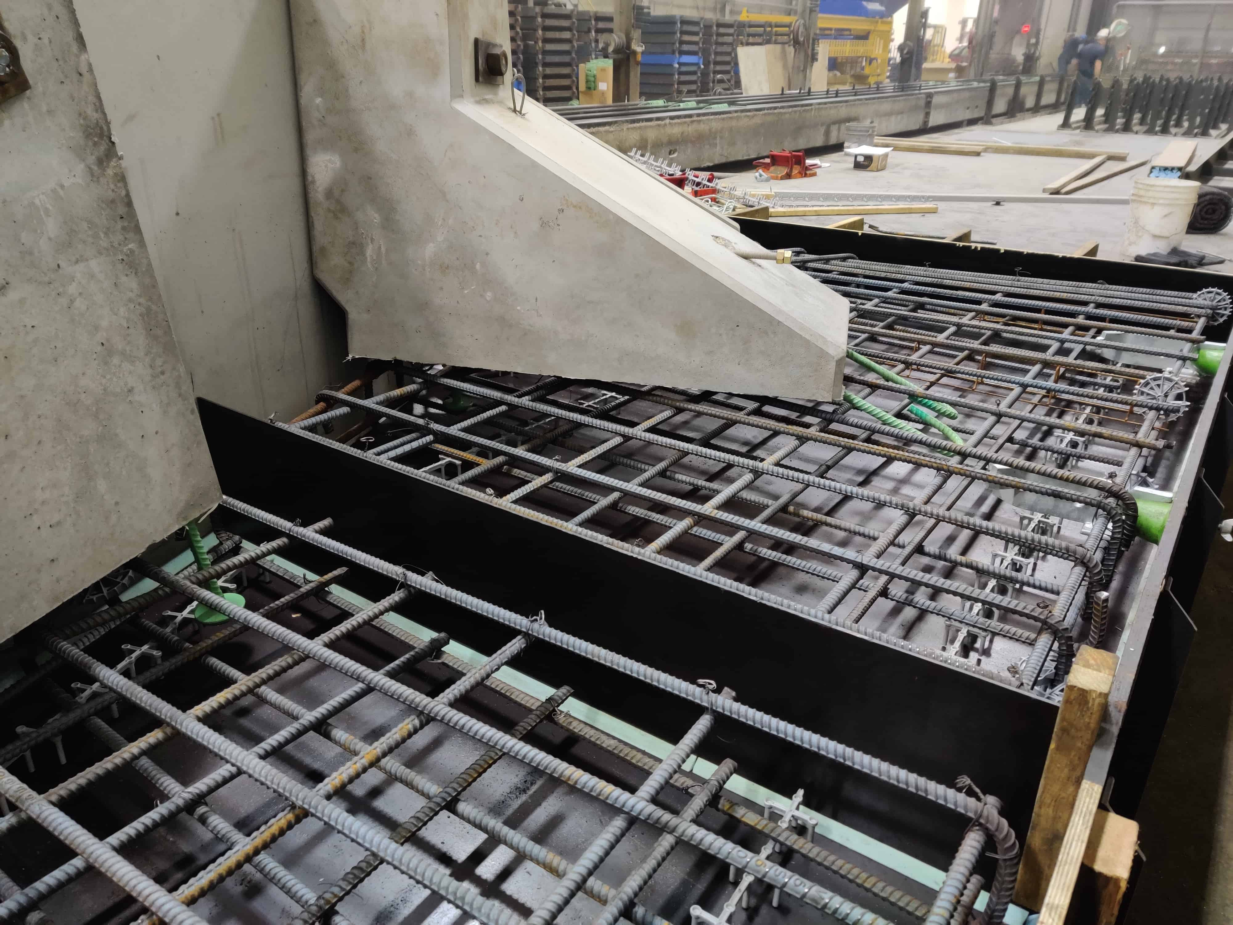 60 foot Bridge and Headwall by Wieser Concrete