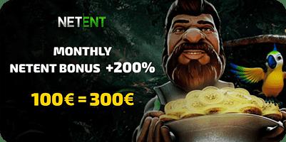 200% live casino bonus