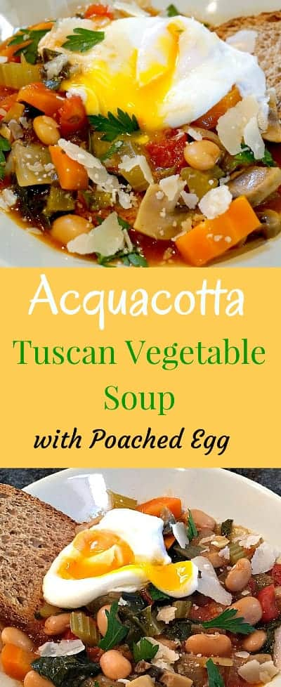 Tuscan Vegetable Soup Acquacotta