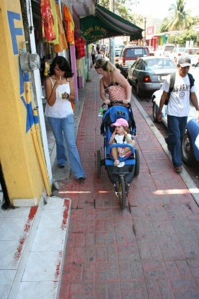 travel with a stroller, travel with stroller