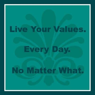 Live Your Values
