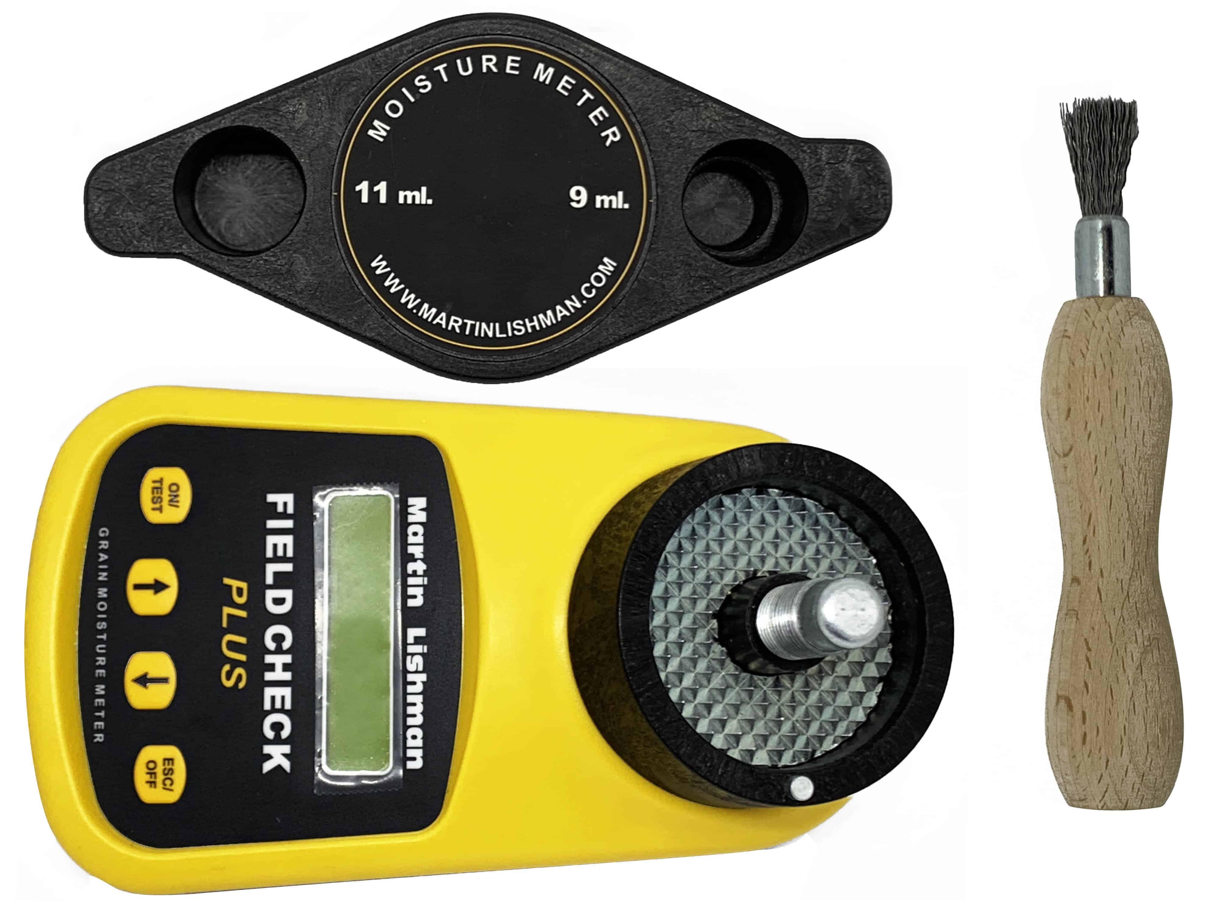 Уређај за мерење влаге Мартин Лисхман долази са свим потребним