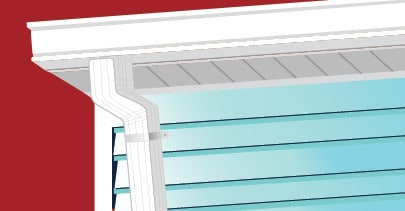 Clean your gutters and downspouts to prepare for summer.