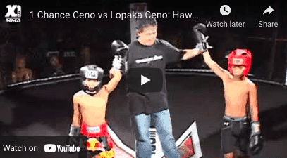 Chance Ceno vs Lopaka Ceno : Hawaii Kickboxing