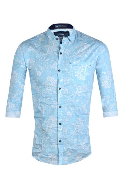 Men's Cotton Casual Shirt for Men Full Sleeves -M