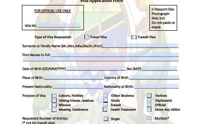 tanzania visa application form-india