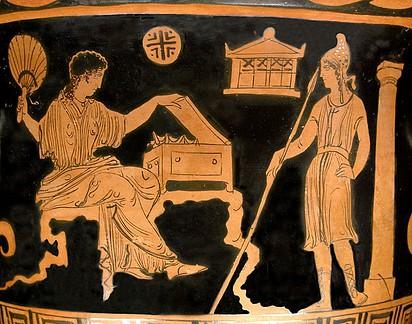 Helena de Troya y el príncipe Paris