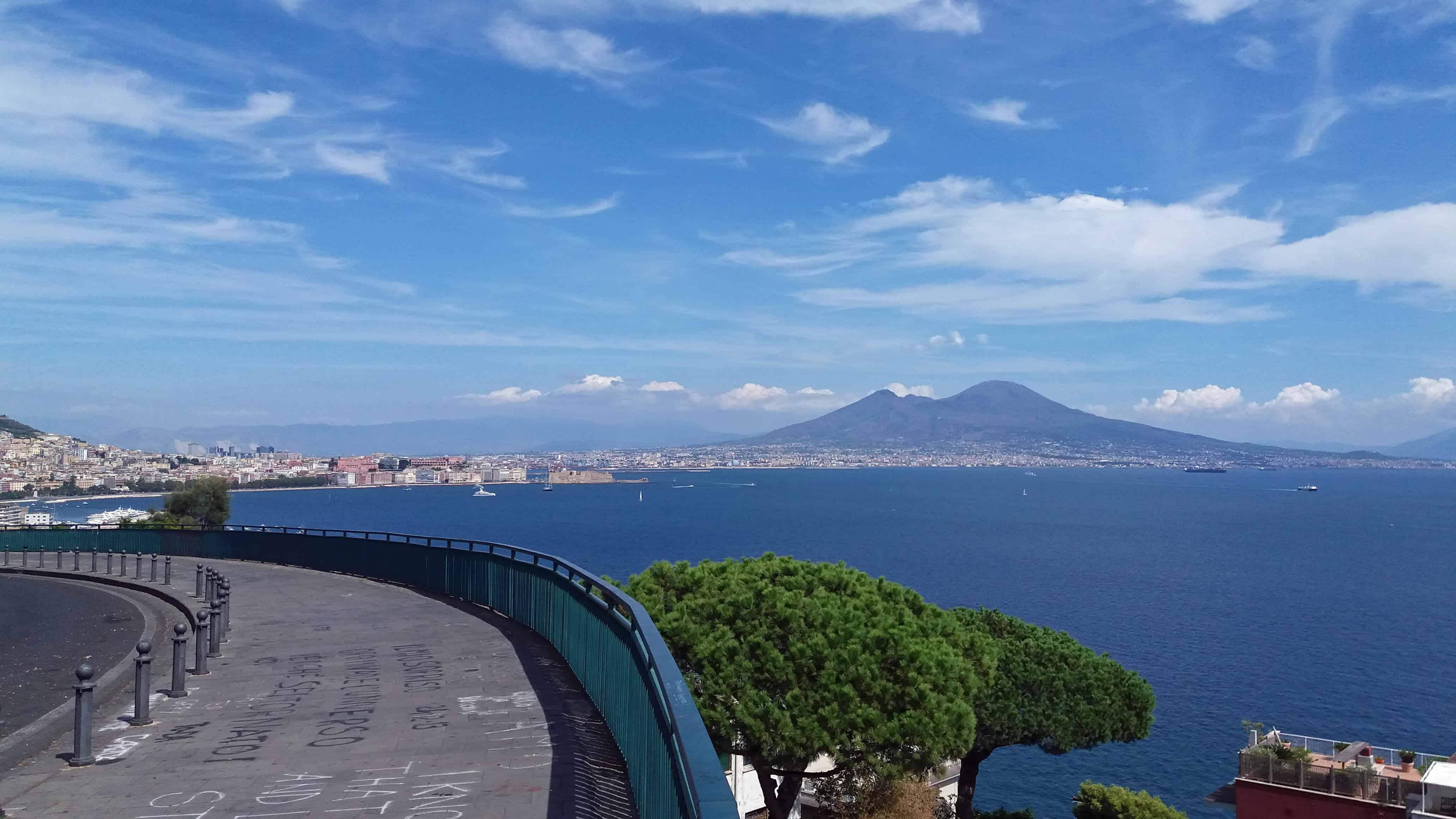 Vesuvius & Bay of Naples