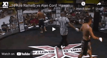 16 Koa Ramelb vs Alan Cord: Hawaii MMA