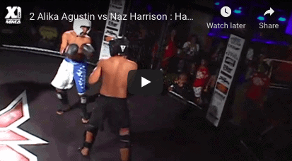 2 Alika Agustin vs Naz Harrison Hawaii Kickboxing