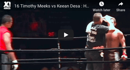 16 Timothy Meeks vs Keean Desa : Hawaii MMA