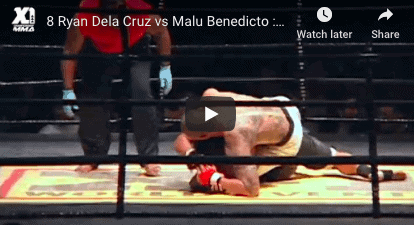 8 Ryan Dela Cruz vs Malu Benedicto : Hawaii MMA