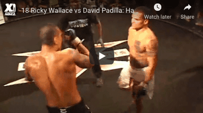 18 David Padilla vs Ricky Wallace