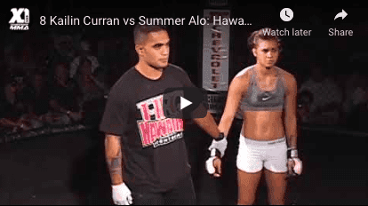 8 Kailin Curran vs Summer Alo