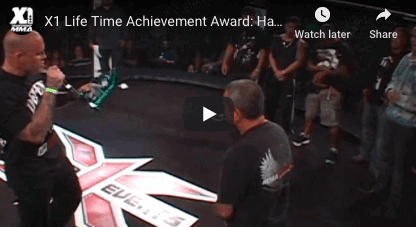 X1 Life Time Achievement Award: Hawaii MMA