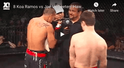 8 Koa Ramos vs Joe Verbeeten: Hawaii MMA