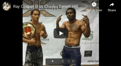 Ray Cooper iii vs Charles Bennett Fight Highlights