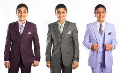 Boys High Fashion Suits New Colors Toddler Children Kids-Church Wedding Suits
