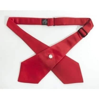 Red Cross Tie Continental Tie