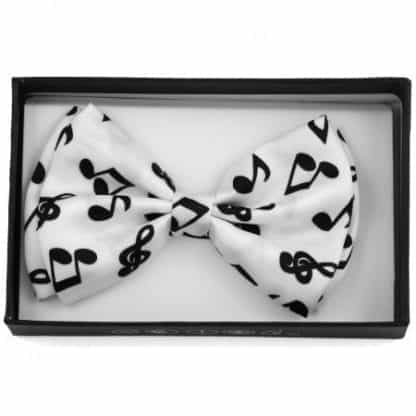 Music Note Pre-tied Bowtie- Concert- Musicals-Band