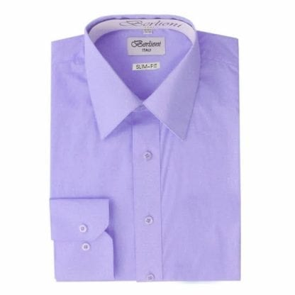 Lavender Dress Shirt Takes Cufflinks