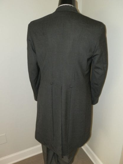 Mens Grey Cutaway Coat Only