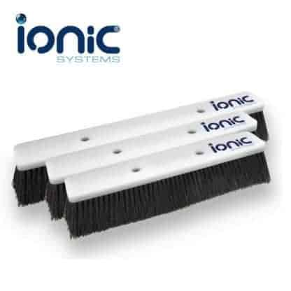 Ionic double trim commercial brushes