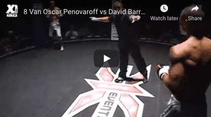 8 Van Oscar Penovaroff vs David Barrios
