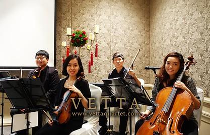 Chea Wan & Nina Wedding (Idea Inn) at Mandarin Oriental Atrium Suite
