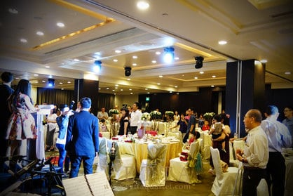 Koh's Wedding at Grand Copthorne Waterfront Hotel