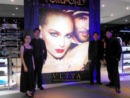 Launch of Tom Ford at Tangs Orchard
