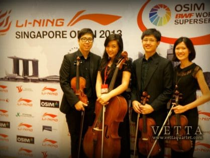 Li Ning Singapore Open 2013 - Welcome Reception
