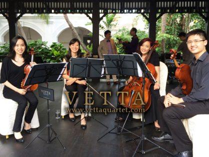 Wedding Solemnisation at Raffles Hotel Lawn