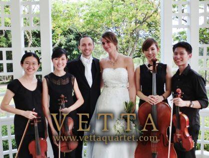 Wedding Solemnisation at Singapore Botanic Gardens, the Bandstand